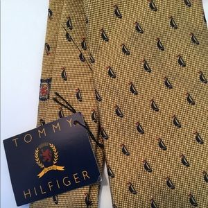 Tommy Hilfiger silk tie with sailboats